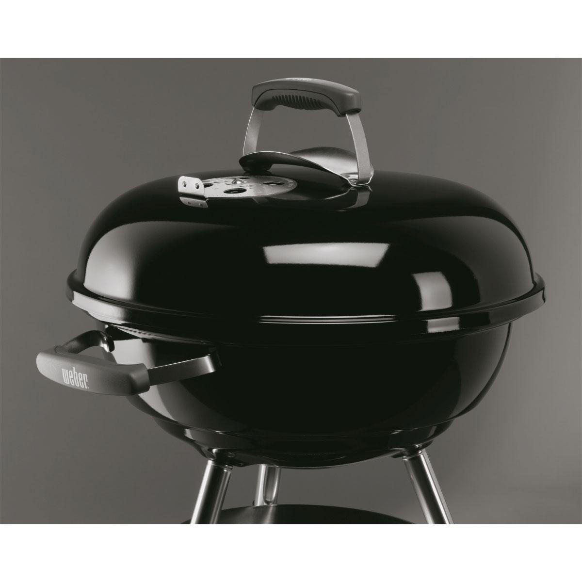 weber compact kettle 47 cm black 1221004 grill co