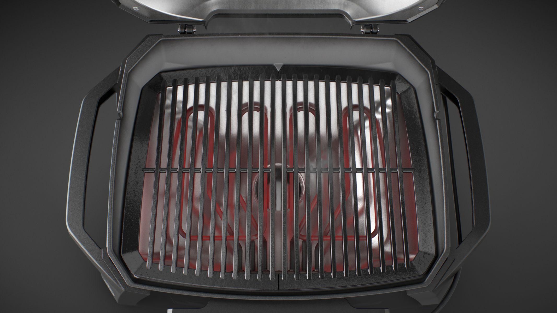 Weber Elektrogrill Pulse Mit Rollwagen : Weber pulse 2000 mit rollwagen 85010079 grill&co