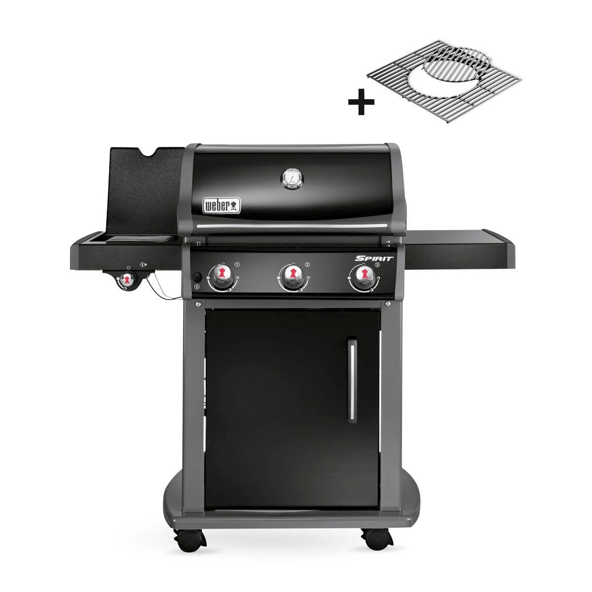 weber spirit e320 original gbs black 46613679 grill co. Black Bedroom Furniture Sets. Home Design Ideas